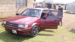 1988 Model Toyota Conquest 130 Chicel Shape