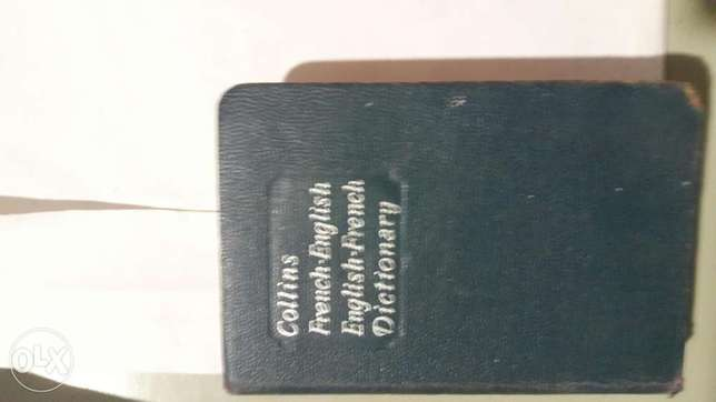 Collins Pocket Dictionnary