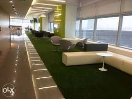 artificial green grass rugs for indoor and outdoor events