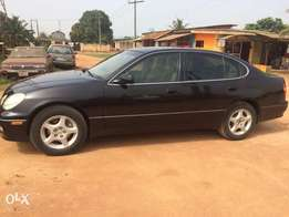 Black Lexus 300GS (buy n drive)