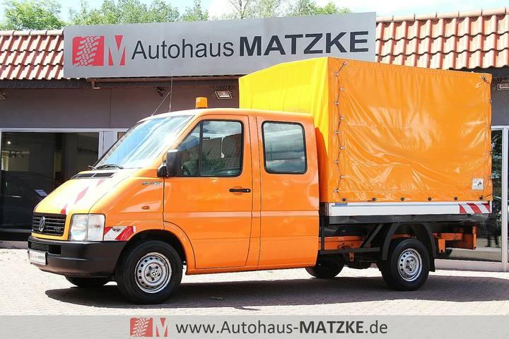 Volkswagen LT 35 Doka Pritsche + Plane Standheizung AHK - 2004