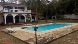 4BR HOUSE for rental in nyali with swimming pool