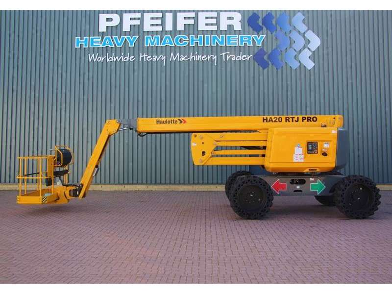 Haulotte HA20RTJPRO NEW / UNUSED, 20.6 m Working Height, Al - 2018