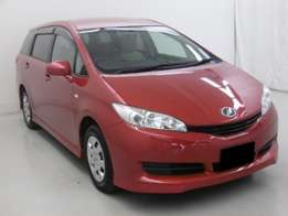 Foreign Used Red 2010 Toyota, Wish Petrol For Sale 1,350,000/=