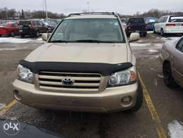 Toks 5 Units Of Clean Title 2004/05 Toyota Highlander -