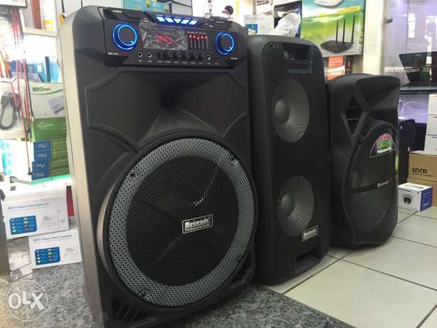 Speaker Portable with Battery,Bluetooth,SD,USB,AUX