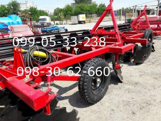 Борона ДИСКОВАЯ для трактора 2.1-2.4-2.5 метра захвата для ЮМЗ, МТЗ Днепр - изображение 8