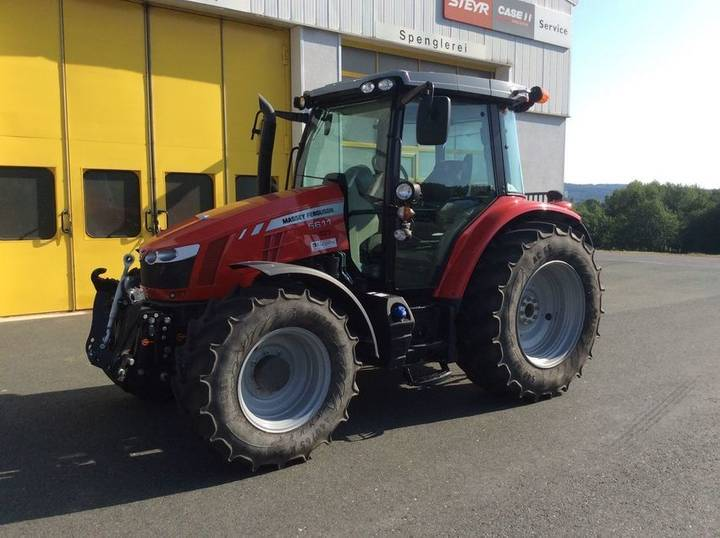 Massey Ferguson mf 5611 dyna-4 efficient - 2015