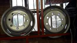 8holes big holes & small holes 22.5 brandnew rims (R1300each)