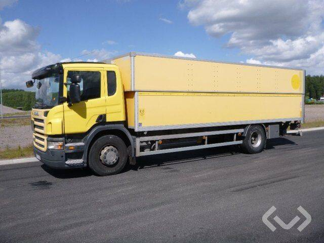 Scania P230LB MNB (export only) 4x2 Box (height / adjustable + tail - 2019