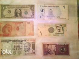 old foreign money.collectors.