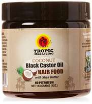 Tropic Isle Living Coconut Black Castor Oil Hair Food