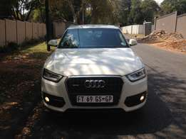 WHITE 2013 Audi Q3 2.0 Litre TDI Available For Sale
