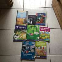 Grade 7 school books up for sale