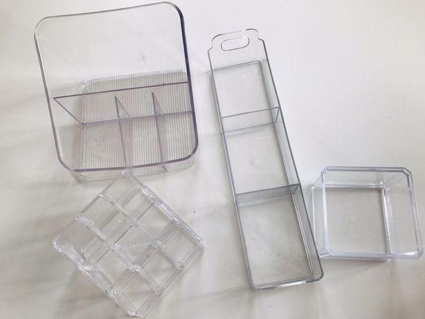 Pojemniki Na Kosmetyki Przybory Przezroczysty Do łazienki