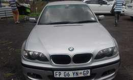 BMW 318i Model 2006 Colour White 5 Doors Factory A/C & MP3 Player