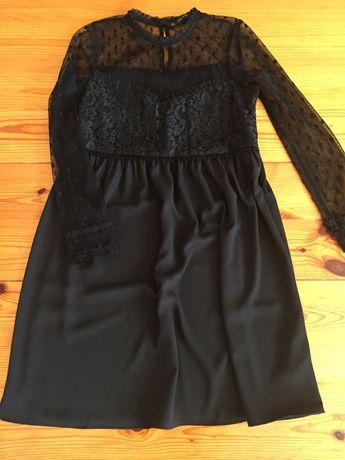 Sukienka Zara, czarna, koronka! Płońsk • OLX.pl