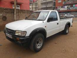 Accident free Isuzu Tougher pickup, local and in very good condition.