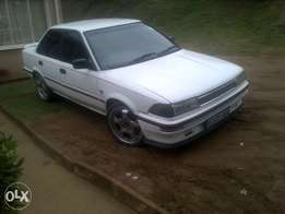 toyota corolla 16v with C.O.R
