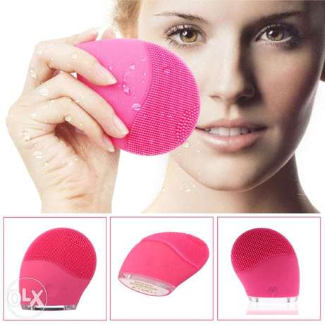 Electric Silicone Facial Brush