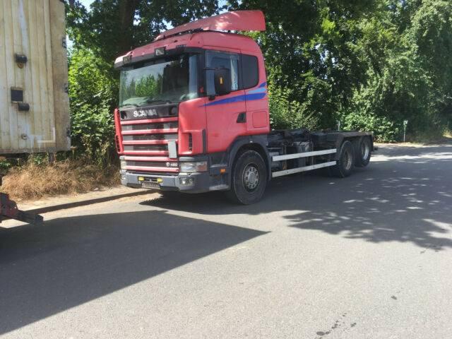 Scania 112-480 Abrollkipper - 2019
