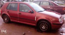 Golf 4, Red colour, Buy and drive