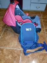 Car seat nd carry bag in very good condition