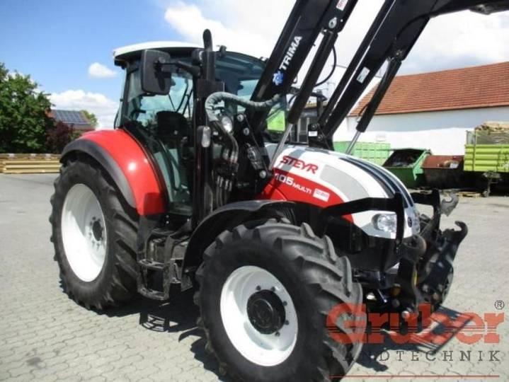 Steyr multi 4105 - 2014