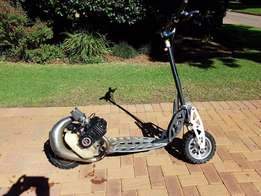 Puzey 50cc two stroke scooter