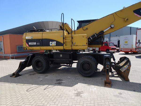 Caterpillar M325 D MH Meterial Handler, Overslagkraan, met Poliep gri... - 2011 - image 5