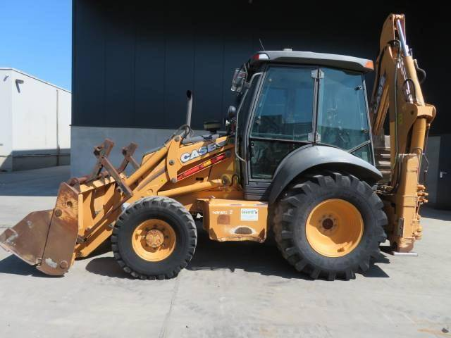 Case 580 SR 4 PT - 2005