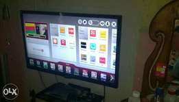 LG 32inc smart 3D cinema Internet Android TV