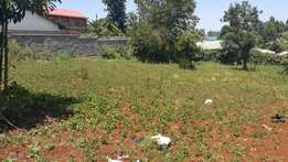 500 meters from tarmac 100x 100 plot for sale at kinoo