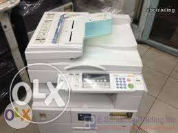 Ex uk digital photocopier machine ricoh 2018d