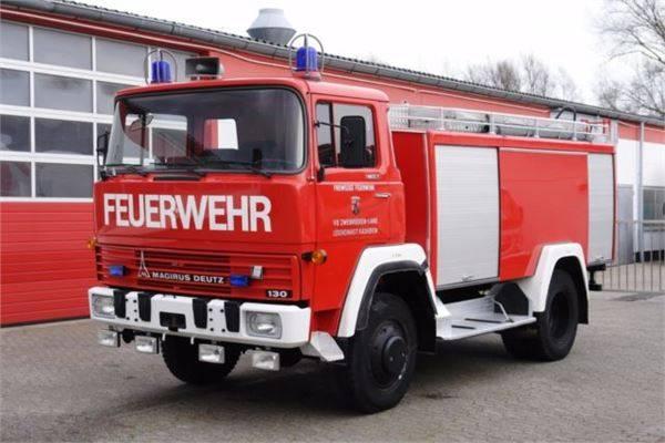 Magirus Deutz Fm 130d 4x4 Tanklöschfahrzeug 2750l Tüv! - 1979