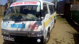 Nissan td 27,new tyres, fully ntsa compliant just buy and earn money