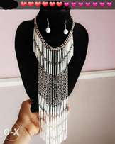 Pure stainless steel neck piece costume for slay queens and momma.