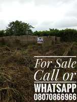 Uncompleted 2bdrm & 3bdrm flat on a plot at idiroko, new garage ib