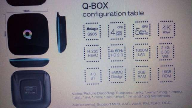 Stream all live games, youtube and 4k videos with the Qbox. Hazina - image 2