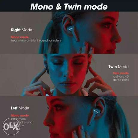 Mpow M9 TWS Earbuds True Wireless Bluetooth 5.0 Headphone IPX7 Waterpr الرياض -  2