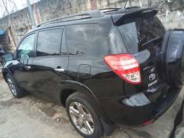 2011 model Toyota Rav4 SUV 4 wheel drive four cylinder automatic trans