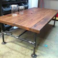Pipe Tables - March Special! Going FAST!! Rustic Timber and Steel