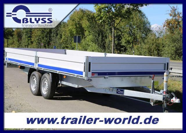 Blyss Hochlader Anhänger 3000kg GG 510x205x40cm