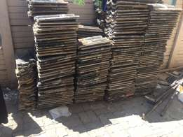 second hand roof tiles R3 each