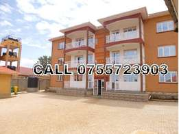 Near tarmc 2 bedroom 2 baths flat for rent in Kirinya at 600k