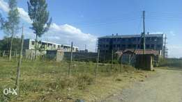 Quick sale 1/8th acre at Nakuru Barnabas , near highway