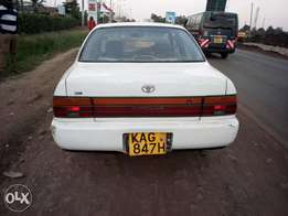 Toyota ae 100 kag manual 1300ccefi asking 290k