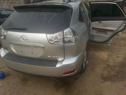 Tincan cleared tokunbo lexus rx350 08 fuloption