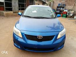 2008 official Toyota corolla LE and accident free Lagos cleared