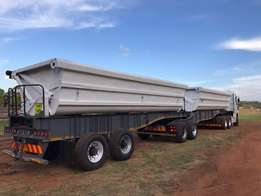 40 Cube Side Tipper Link Trailer 2007 SA Truck Bodies